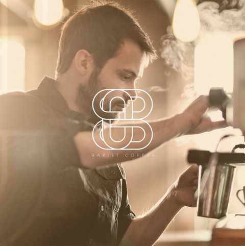 هوية بصرية ل Barista Coffee