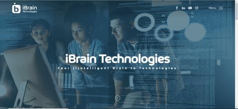 موقع لشركة ibraintechs للحلول البرمجية