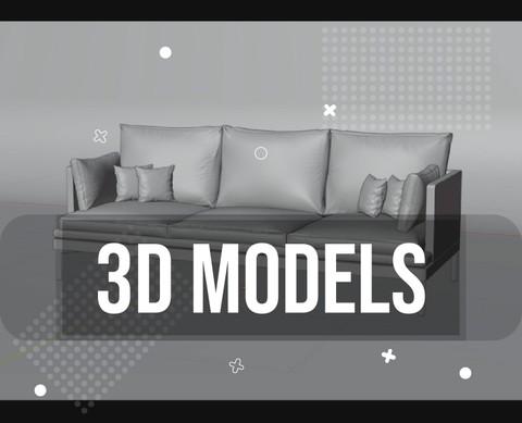 3D models - نماذج ثلاثية الابعاد