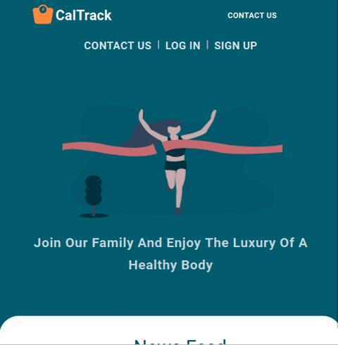 Calori Tracker