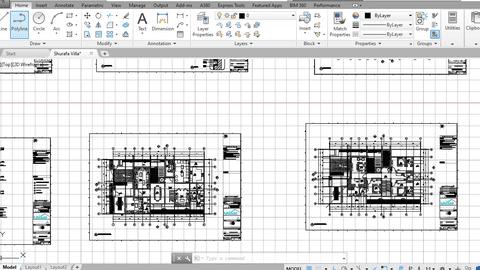 تحويل مخططات من pdf الى Autocad