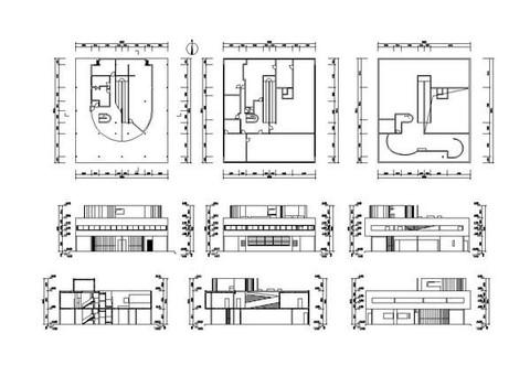 التصميم المعماري والرسم باستخدام الاوتوكاد