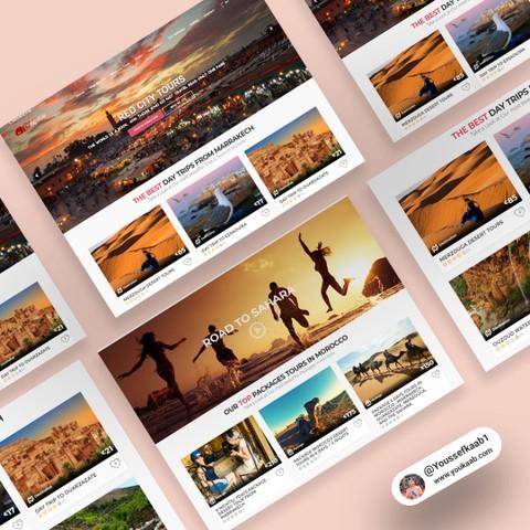 موقع شركة سياحية