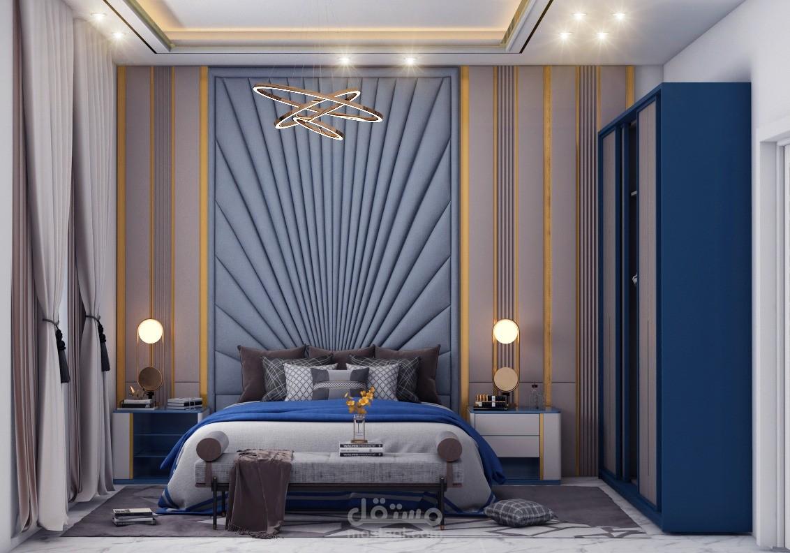 تصميم غرفة نوم بجودة عالية
