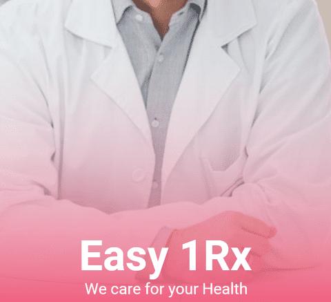 """""""Easy 1Rx"""" تطبيق لطلب أوردرات من الصيدلية"""