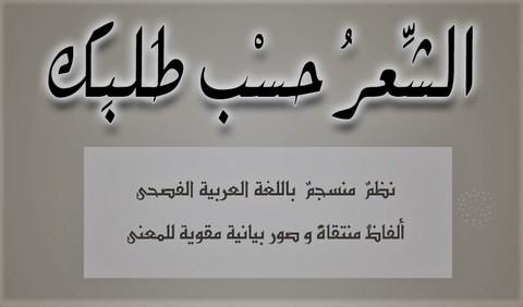 تأليف شعر وأغاني بالفصحي والعامية