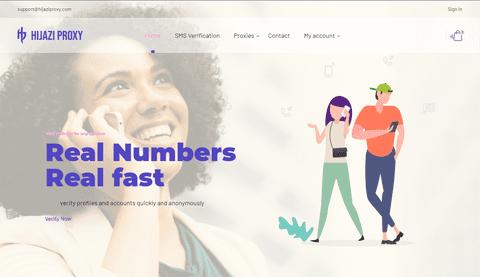 متجر حجازي - تطوير متجر لتأجير بروكسي وأرقام الهواتف