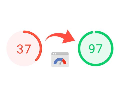 دليل الحامل - تحسين أداء الموقع