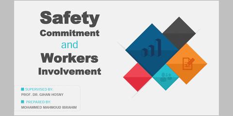 عرض تقديمي Safety commetment & Workers Involvement