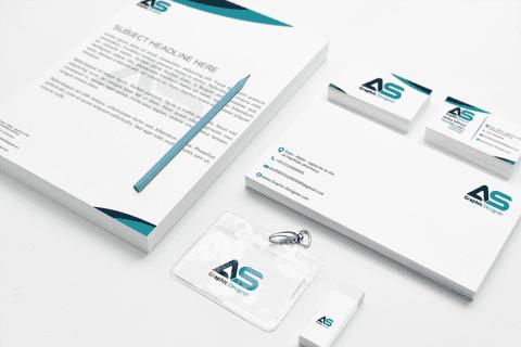 Logo and identity abdullah design