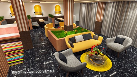 Design of coffee shop