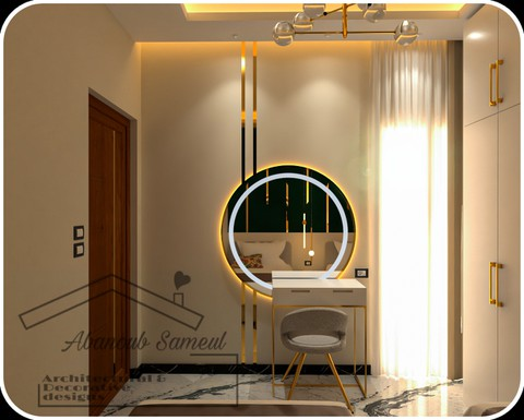 Contemporary modern girl room design