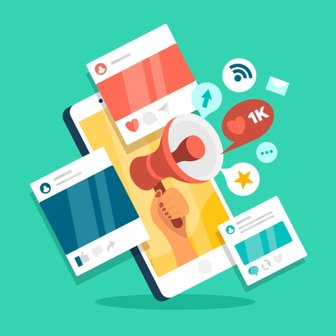 ادارة حسابات التواصل والمحتوى وخدمة العملاء والرد على استفساراتهم من خلال تويتر انستغرام فيس بوك
