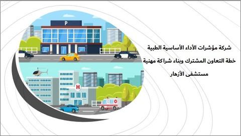 تصميم عرض بوربوينت عن خطة التعاون المشترك وبناء شراكة مهنية