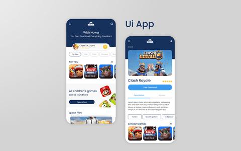تصميم واجهة تطبيق UI باستخدام adobe xd