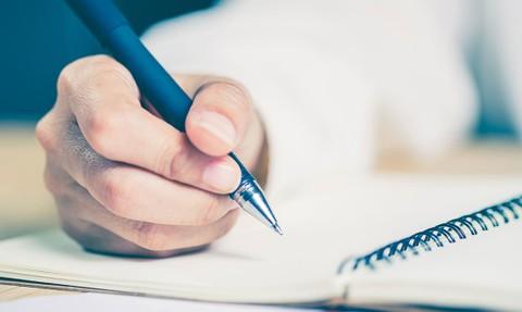 كتابة ملف تعريفي