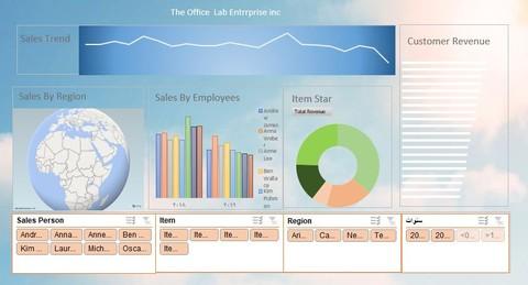 تصميم ملخص بيانات (داشبورد) بشكل احترافي باستخدام برنامج اكسل