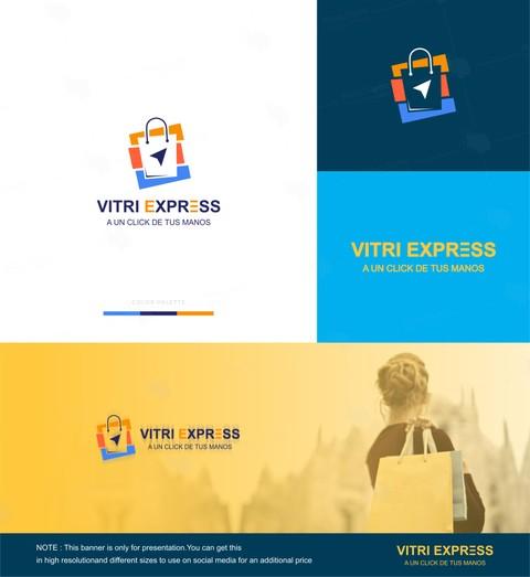 شعار لشركة ( VITRI EXPRESS ) بفنزويلا