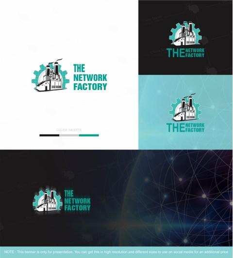 شعار لشركة ( the network factory ) بأستراليا