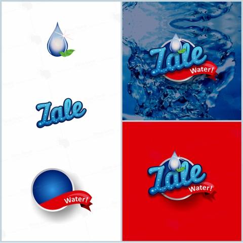 شعار لشركة ( ZALE WATER ) بالهند