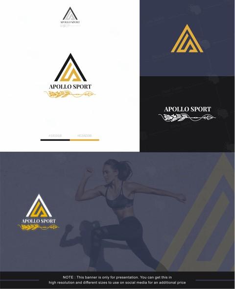شعار لشركة ( APOLLO SPORT ) بأمريكا