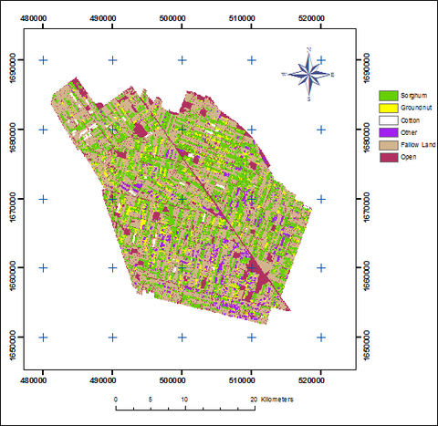 Mapping and Monitoring of Agriculture in parts of Sudan using Remote Sensing and GIS