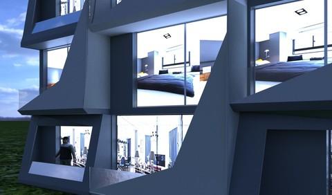 Residential&hyper mall&doublix building