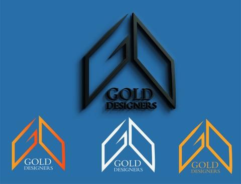 شعار و هوية GOLD DESIGNERS