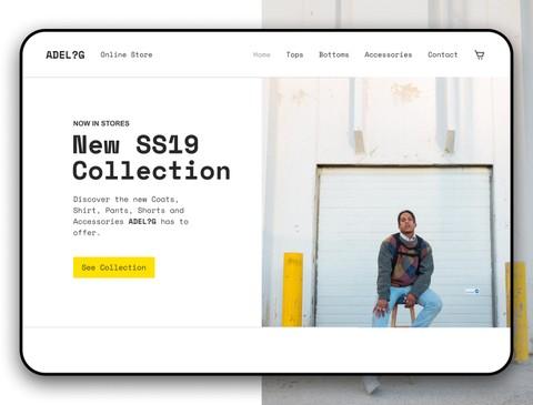 Men Cloth E-Commerce Website