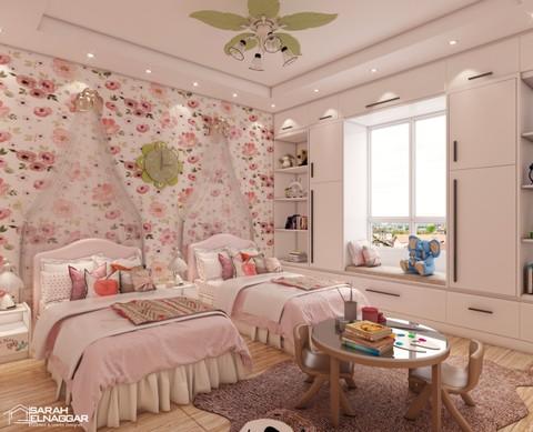 تصميم غرفة اطفال