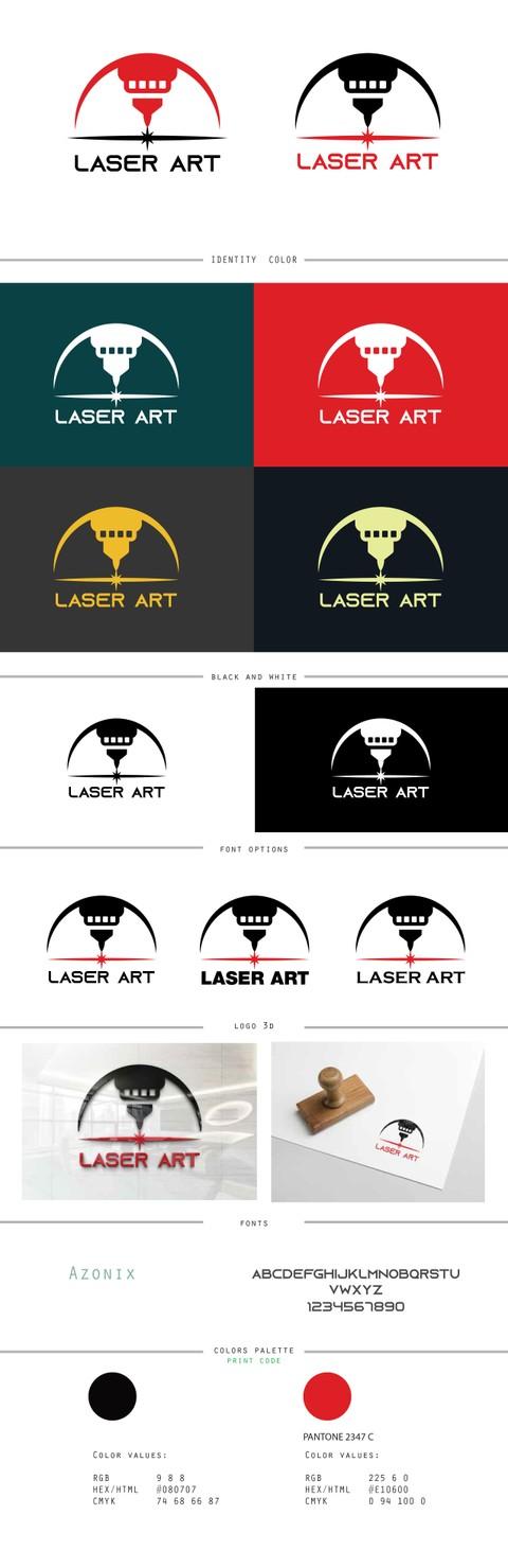 Logo Design For Laser Art