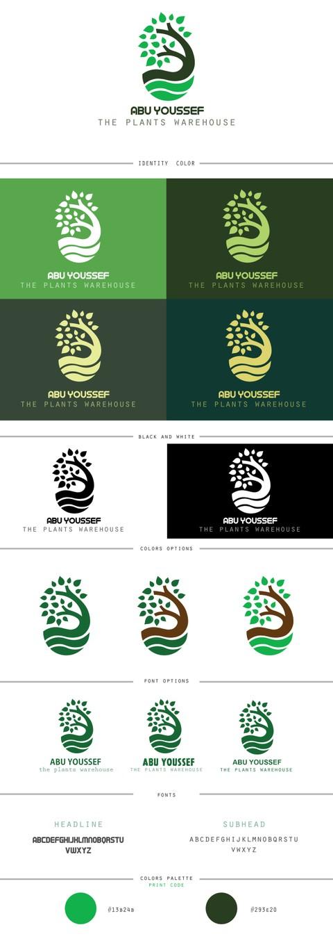 logo design for  plants warehouse