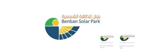 logo design for solar city in Egypt