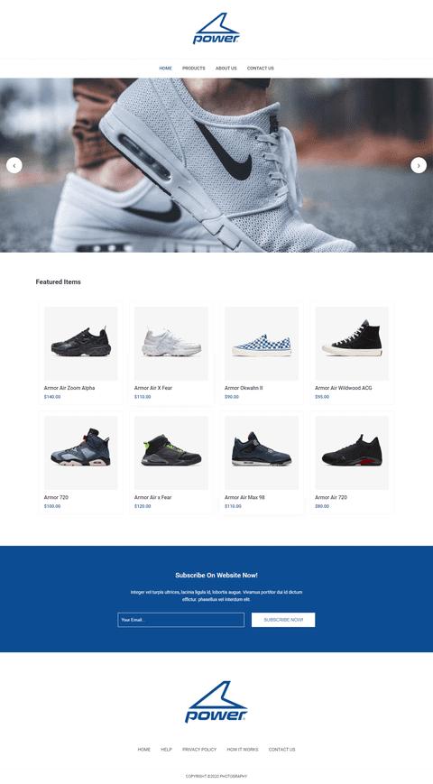 متجر أحذية