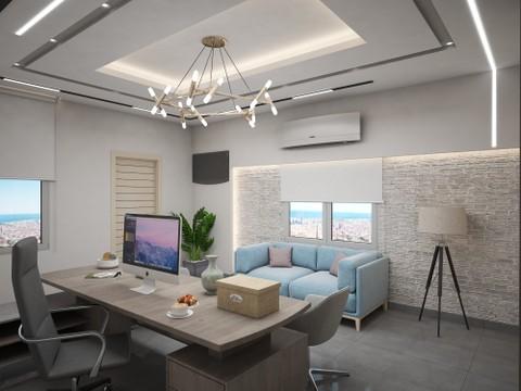 تصميم داخلي لمكتب
