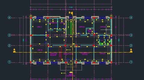 إعداد المخططات الهندسية باستخدام برنامج الاوتوكاد AutoCAD