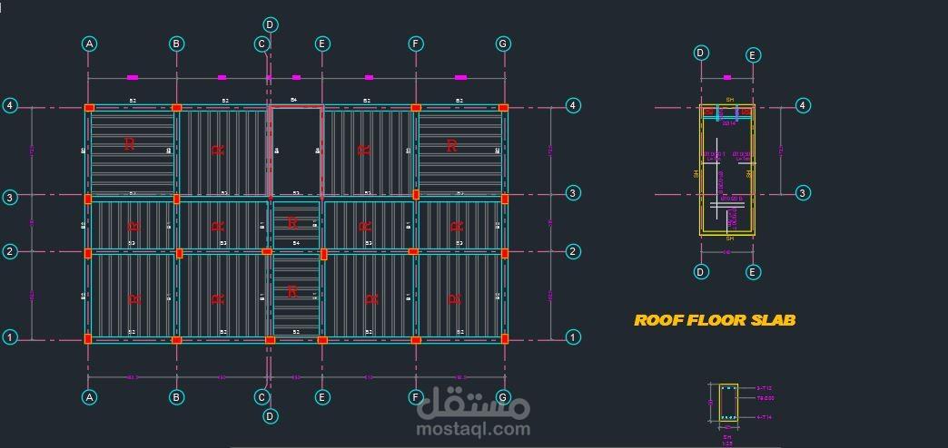 تجهيز المخططات الإنشائية للمباني السكنية