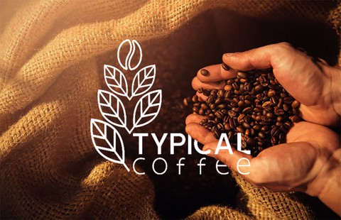 TYPICAL COFFEE LOGO & BRAND DESIGN