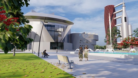 مشروع جامعة لعلوم الفضاء