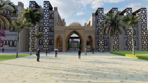 مشروع جامعة للفنون الاسلامية