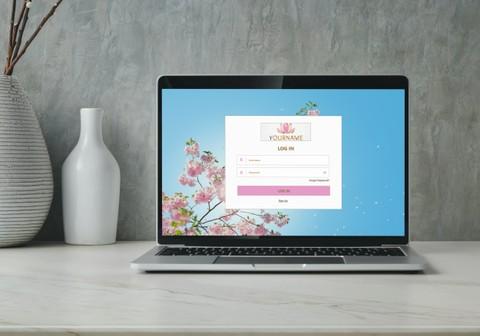 تصميم صفحة تسجيل دخول لموقع ويب