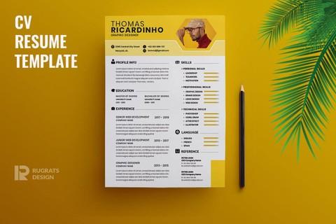 Curriculum vitae (CV)  .