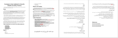 كتابة محتوى باللغة الإنجليزية وترجمته