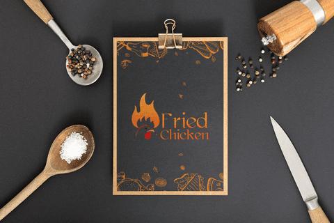 ( Fried Chicken Logo (Egypt