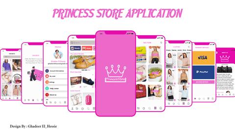 Princces Store (uiux design)