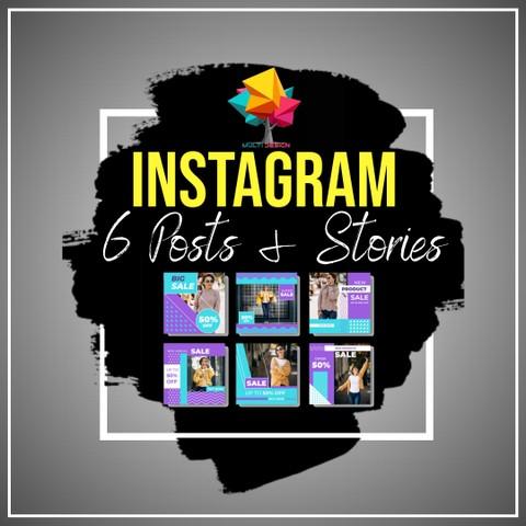 6 بوستات احترافية على Instagram في الأسبوع