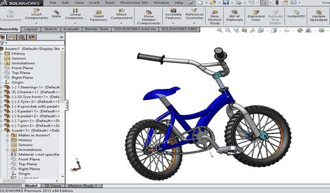 التصميم الميكانيكي باستخدام برنامج Solidworks