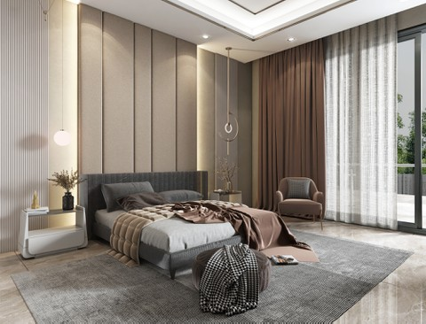 غرفة نوم  موديرن