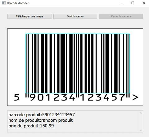 فك تشفير barcode/qrcode