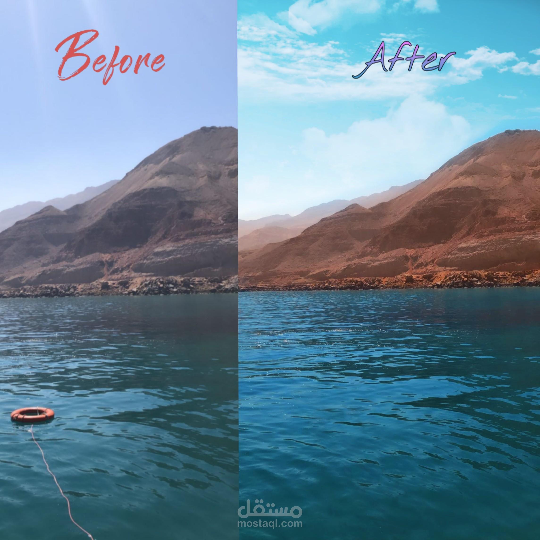 تعديل الصور بشكل احترافي و جودة عالية
